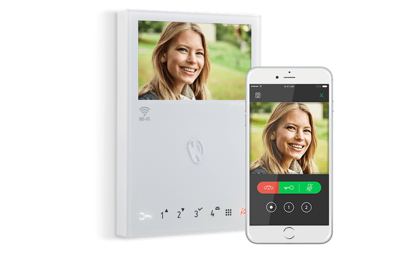 Comelit intercom met app